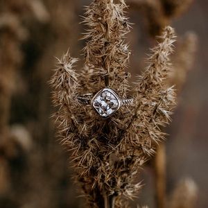 Jewelry - Vintage Inspired: Art Deco Engagement Ring
